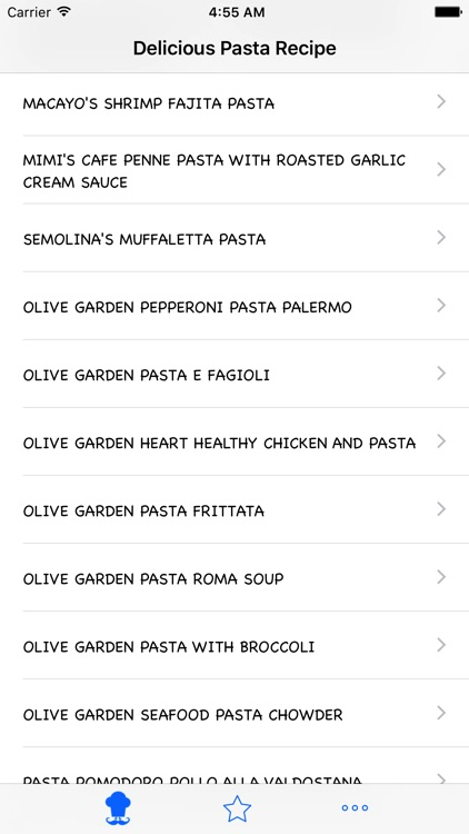 Delicious Pasta Recipe screenshot-1