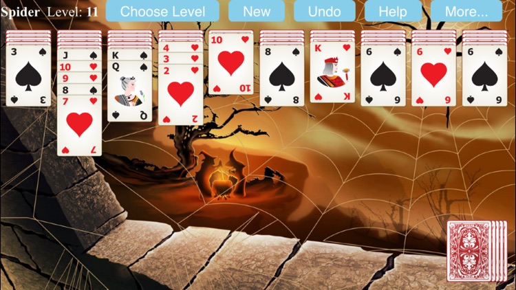 Spider Solitaire Game screenshot-3