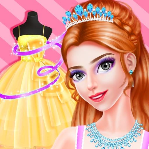 Royal Princess Dress Salon - Magic Castle Makeover iOS App