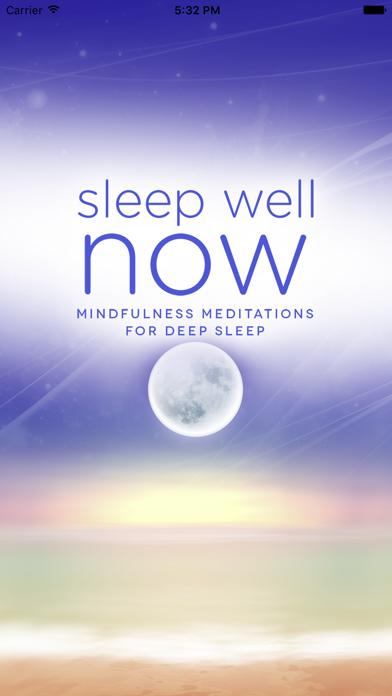 Sleep Well NOW: Mindfulness Meditations for Sleep screenshot one
