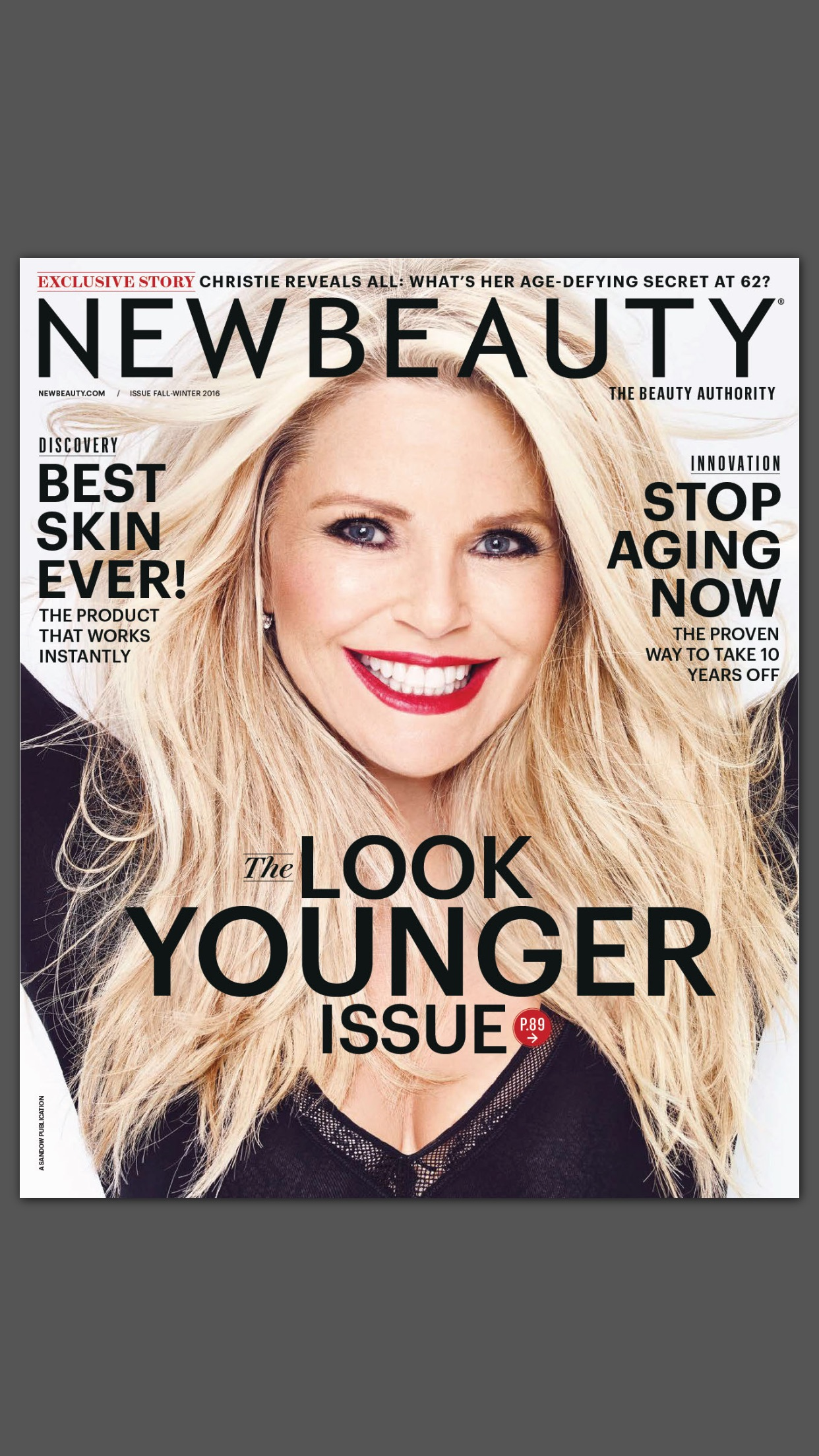NewBeauty Magazine Screenshot
