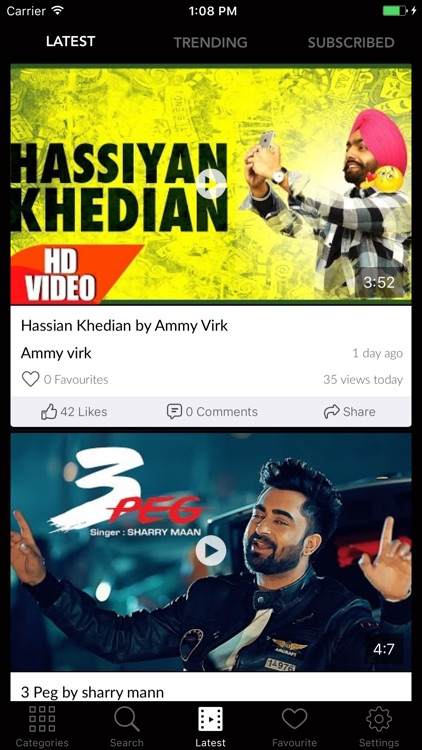 Ok today video songs