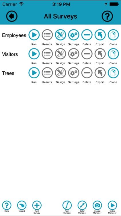 Survey Maker -The Creative Survey Builder for iOS screenshot-3