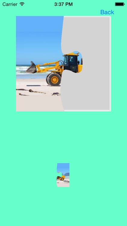 Bulldozer Excavator Jigsaw Puzzles with Backhoe screenshot-3