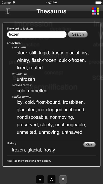 Thesaurus App - Free screenshot-0