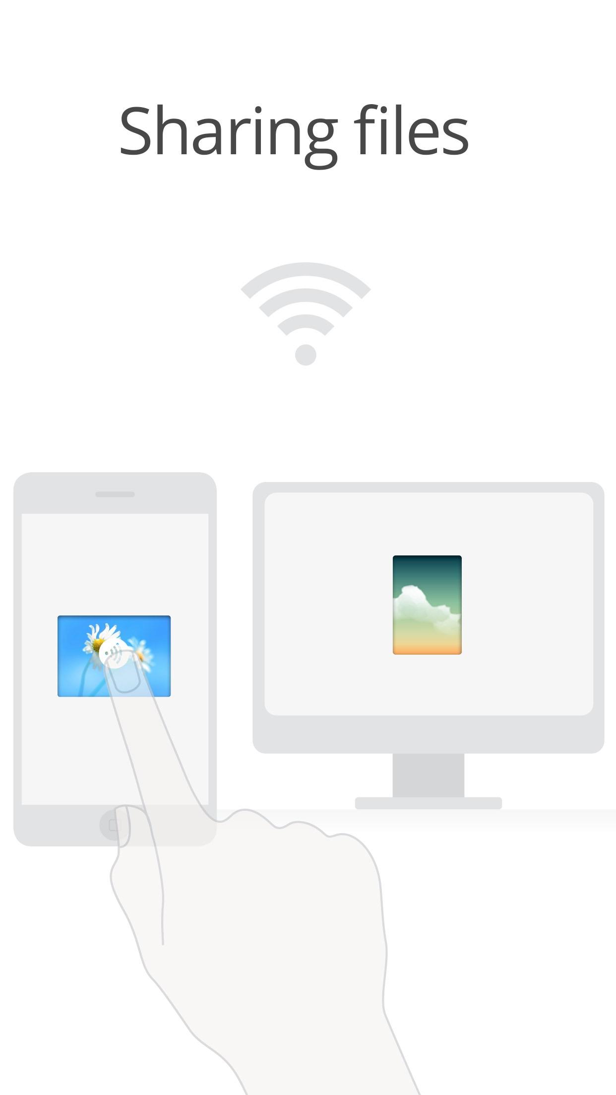 Filedrop - Pair and Share Screenshot