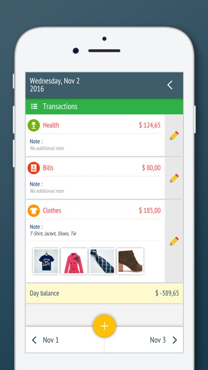 Expense Manager, Money Tracker