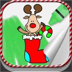 Yılbaşı Boyama Oyunları çocuklar Için App Storeda