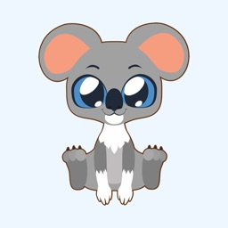 Cutest Colored Animals Stickers for iMessage