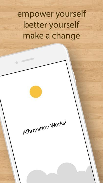 Affirmation Works! screenshot-4