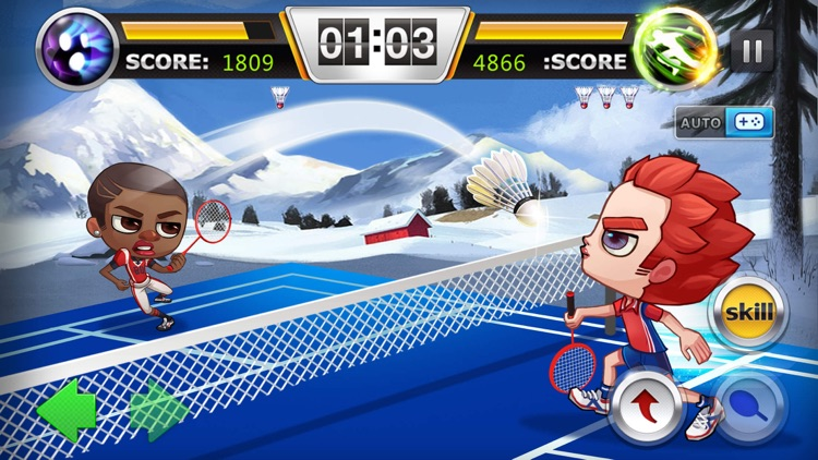 Badminton Legends: 3D Ball Sports screenshot-0