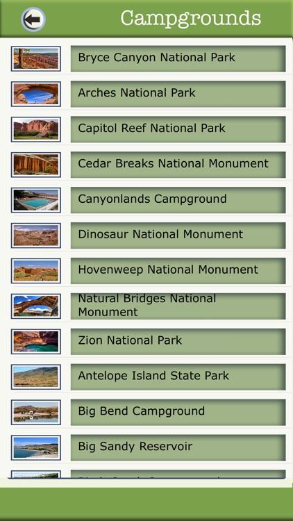 Utah Camping And National Parks
