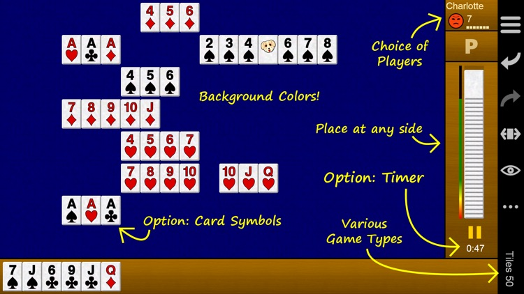 Pup Rummy PLUS   The game with numbered tiles