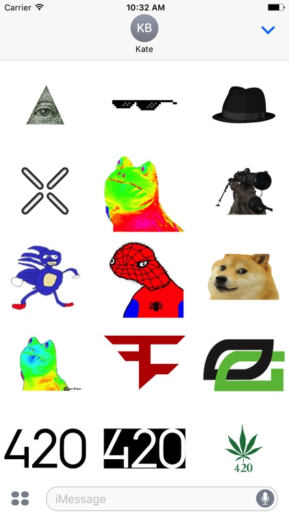 MLG Stickers