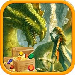 Dragon Gems Puzzle - Train Monster & Blast Diamond