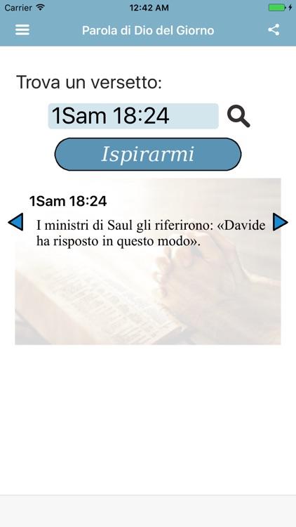 Parola di Dio del Giorno Sacra Bibbia Italiana screenshot-4