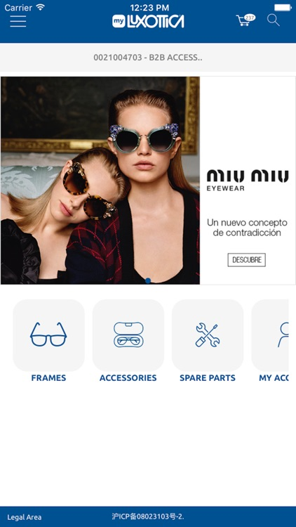MyLuxottica by Luxottica Group SPA