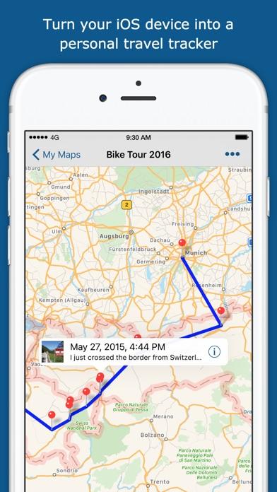 Trackmytour review screenshots
