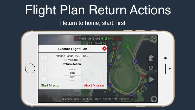 Flight Plan For DJI Phantom 2 Vision+