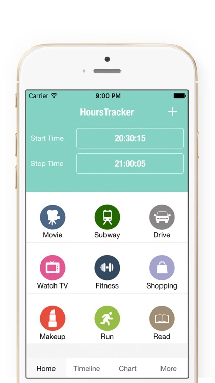 Hours Tracker - Simple Hours Time Tracking
