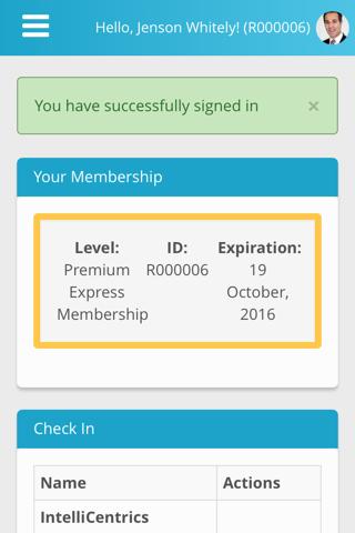 SEC³URE App - náhled