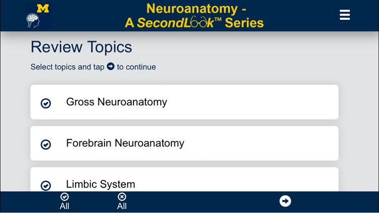 Neuroanatomy - SecondLook