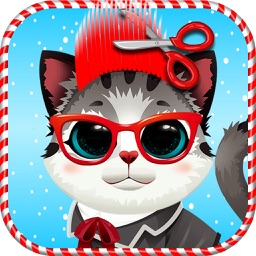 Christmas Kitty Salon - Crazy Cat Makeover Salon