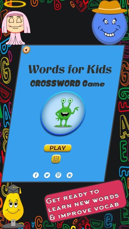Words Crossword Puzzle screenshot-0