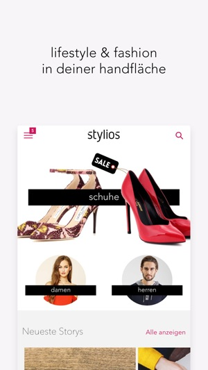 stylios - lifestyle & fashion Screenshot