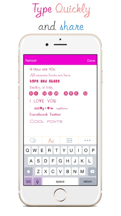 Fonts Keyboard - Art Fonts & Cool Text Styles Font app image