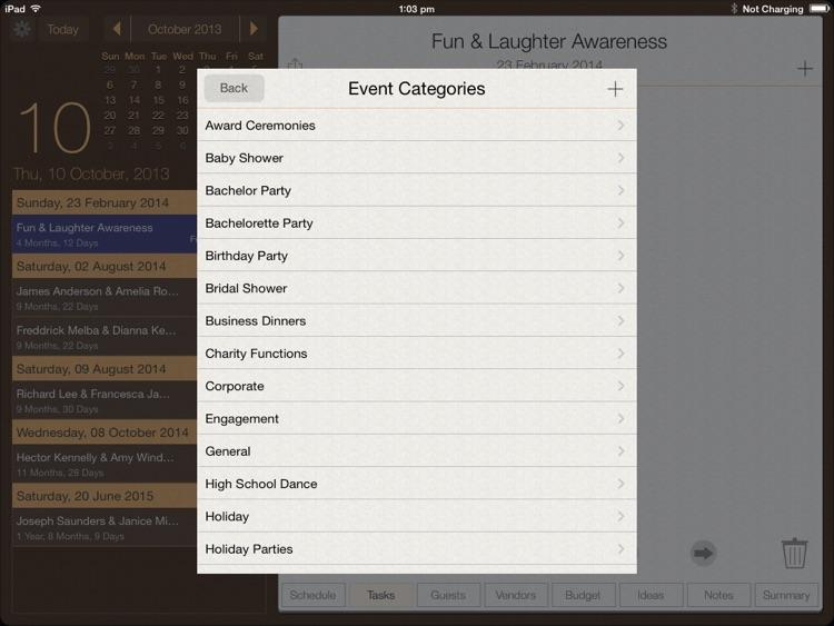 Event Planner screenshot-3