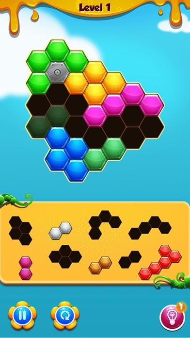 Hexagon Match screenshot two