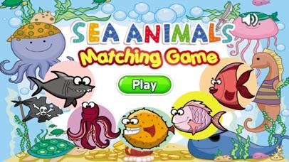 Sea Animals Matching-Education Learning Matching screenshot one