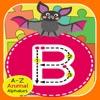 ABC 動物園アルファベット ジグソー パズル子供ゲーム学習