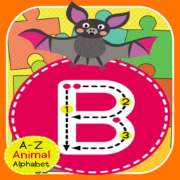 ABC ZOO Alphabet Jigsaw Puzzle Kids Games Learning