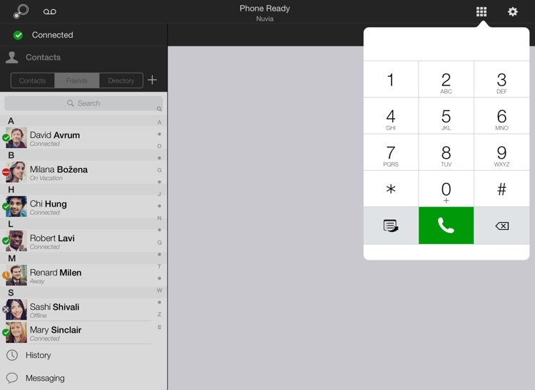 Nteract Mobile Unified Communications for iPad
