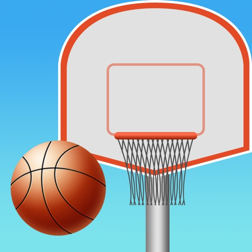 Crazy Rooftop Basketball Match app logo