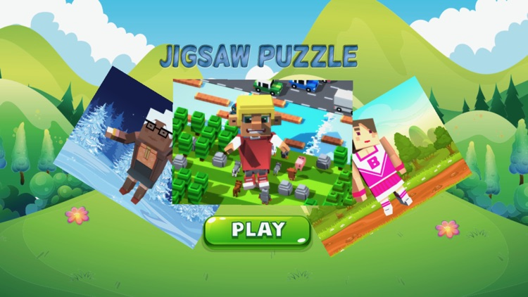 cartoon jigsaw puzzle learning game for kid 4 year screenshot-4