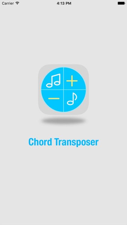 Chord Transposer