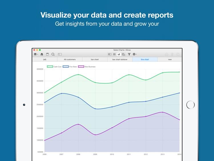 Ninox Database for iPad screenshot-3