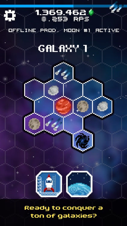Tap Galaxy – Deep Space Mine screenshot-3