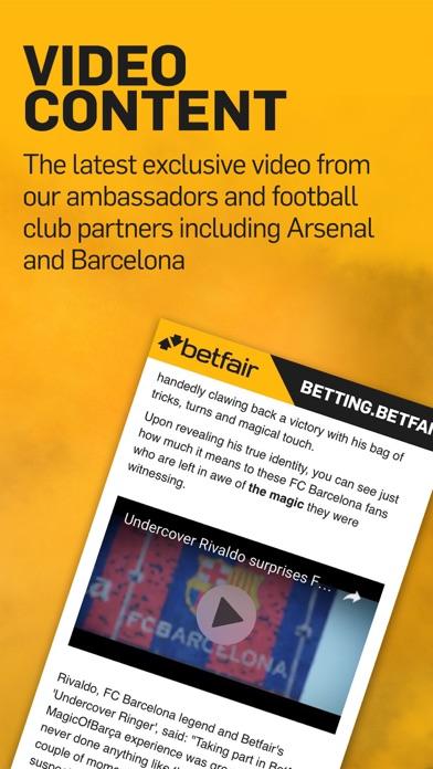 Betting.Betfair - Sports News, Odds & Tips screenshot four