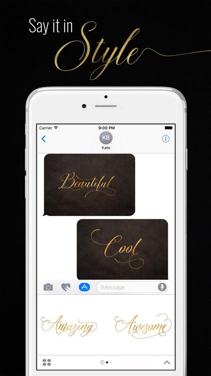 Elegant Messages Gold