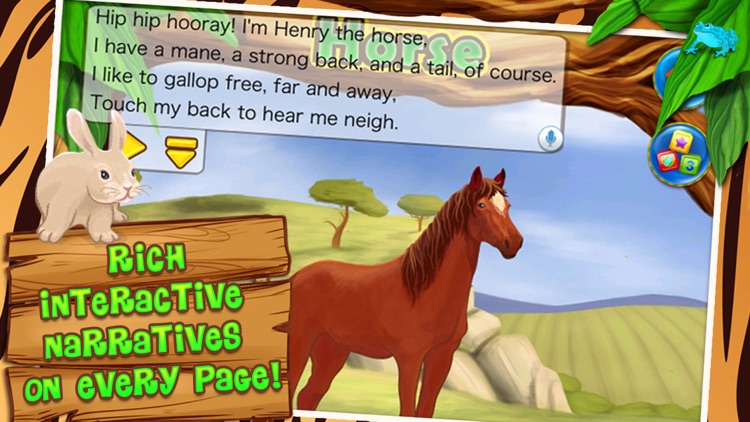 Animals Zoo - Interactive Flash Cards for Kids screenshot-3