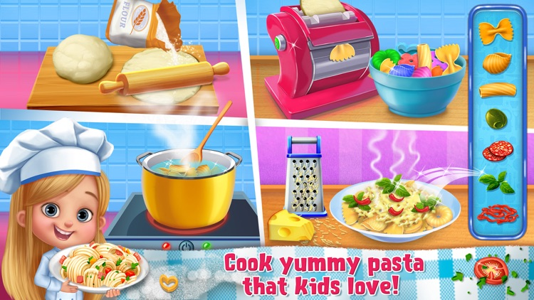 Chef Kids - Play, Eat & Cook Yummy Food