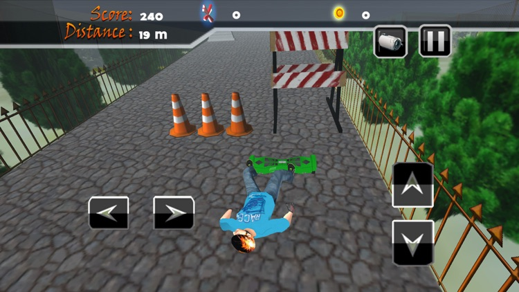 Real Hoverboard Stunts: Freestyle Board Simulator screenshot-4