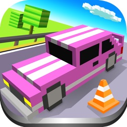 Blocky Car Parking & Driving Sim Simulator 2017