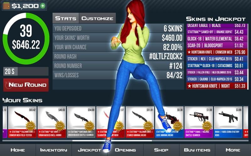 CS GO Jackpot Simulator Screenshot