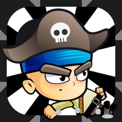 海盗旋转跳跃-向海盗宝藏冲吧