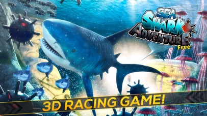 Sea Shark Adventure: Shark Simulator Game For Kids-0